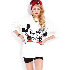 Disney x Forever 21 Mickey and Minnie Sweater